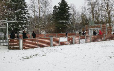 Sneboldkamp på Holmegaard Heldagsskole
